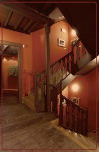 Escaleiras Interior - Casa dos Poetas