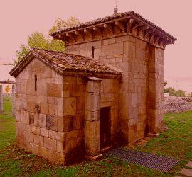 Capela de San Miguel: nacemento do monacato en Galicia