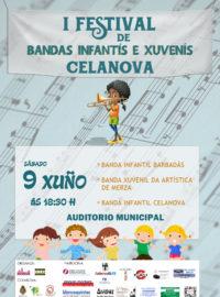 I Festival de Bandas Infantís e Xuvenís de Celanova