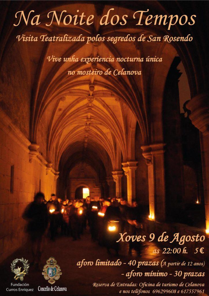 Visita teatralizada polo Mosteiro