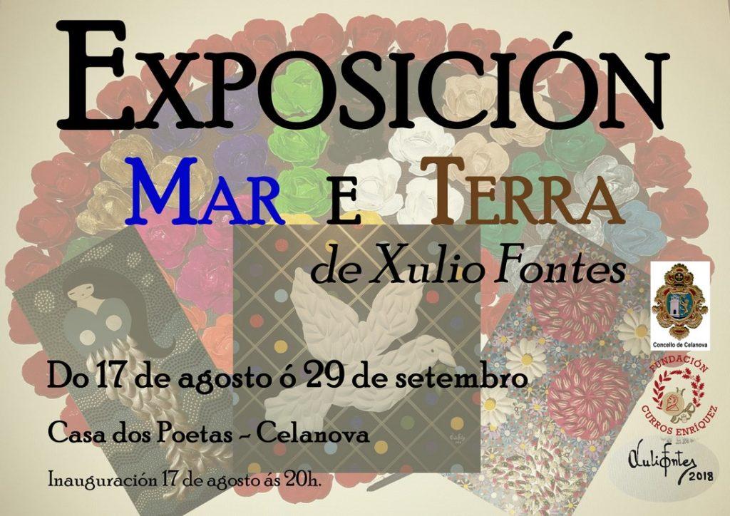 """Exposición """"Mar e Terra"""" de Xulio Fontes"""