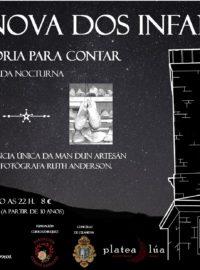 Unha historia para contar – Visita teatralizada en Vilanova dos Infantes