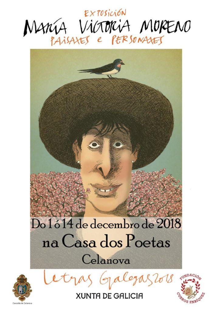 María Victoria Moreno. paisaxes e personaxes