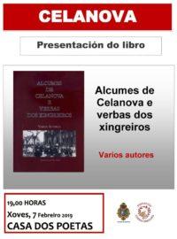 """Presentación de """"Alcumes de Celanova e verbas dos xingreiros"""" na Casa dos Poetas"""