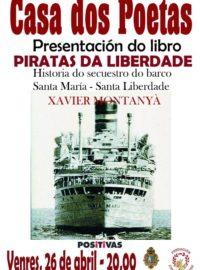 Presentación do libro «Piratas da liberdade» o 26 de abril