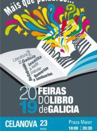 Feira do libro en Celanova o 23 de maio