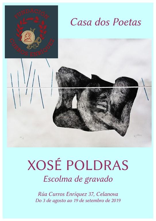 Exposición de Xosé Poldras. Escolma de gravado.