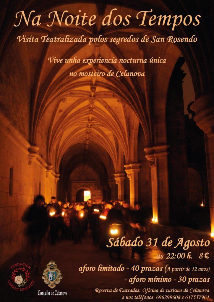 Visita teatralizada nocturna polo mosteiro