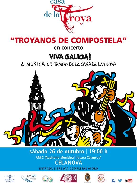 Troyanos de Compostela en concerto