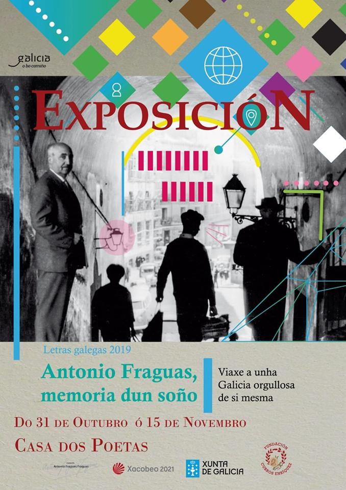 Exposición «Antonio Fraguas, memoria dun soño»