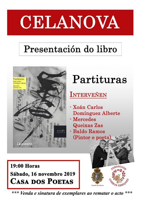 Presentación do libro «Partituras»