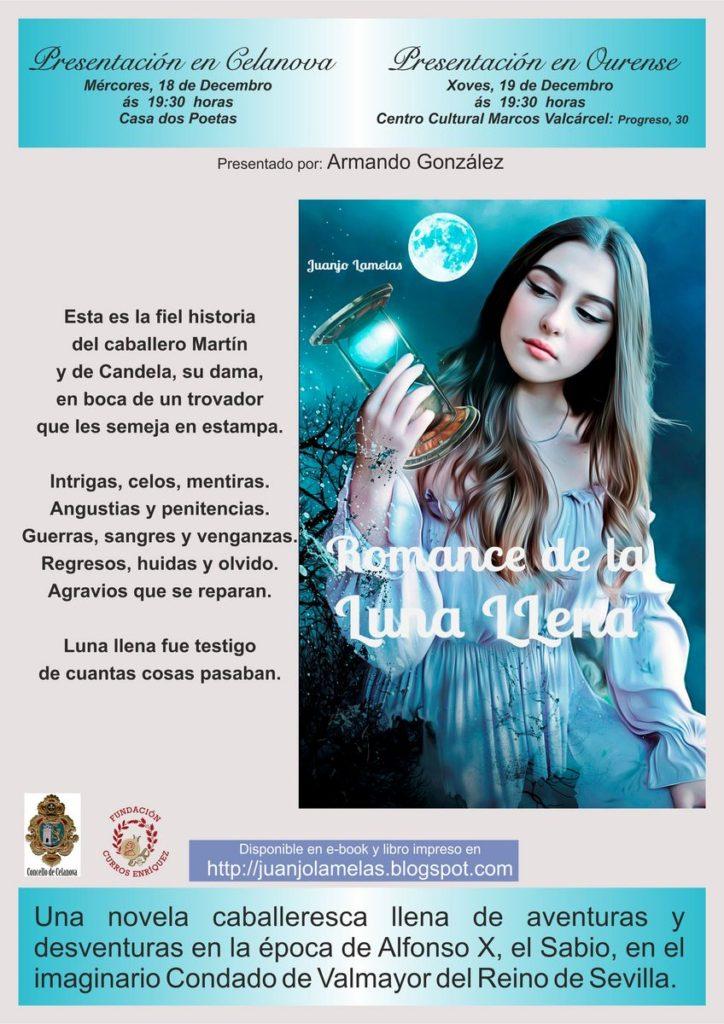 Presentación do libro «Romance de la Luna Llena»