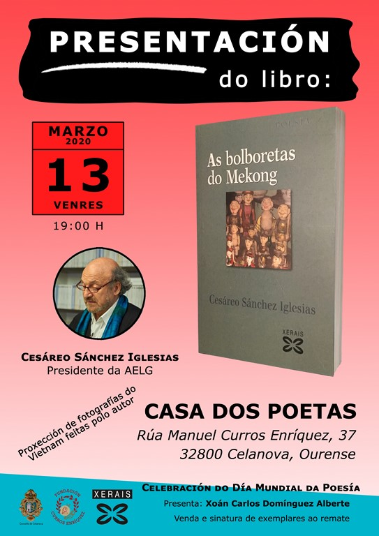 Presentación libro «As bolboretas deo Mekong»