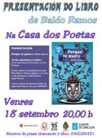 Presentación do libro de Baldo Ramos