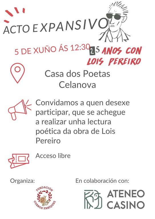 Homenaxe a Lois Pereiro