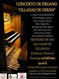 Concerto de órgano «Olladas de verán»