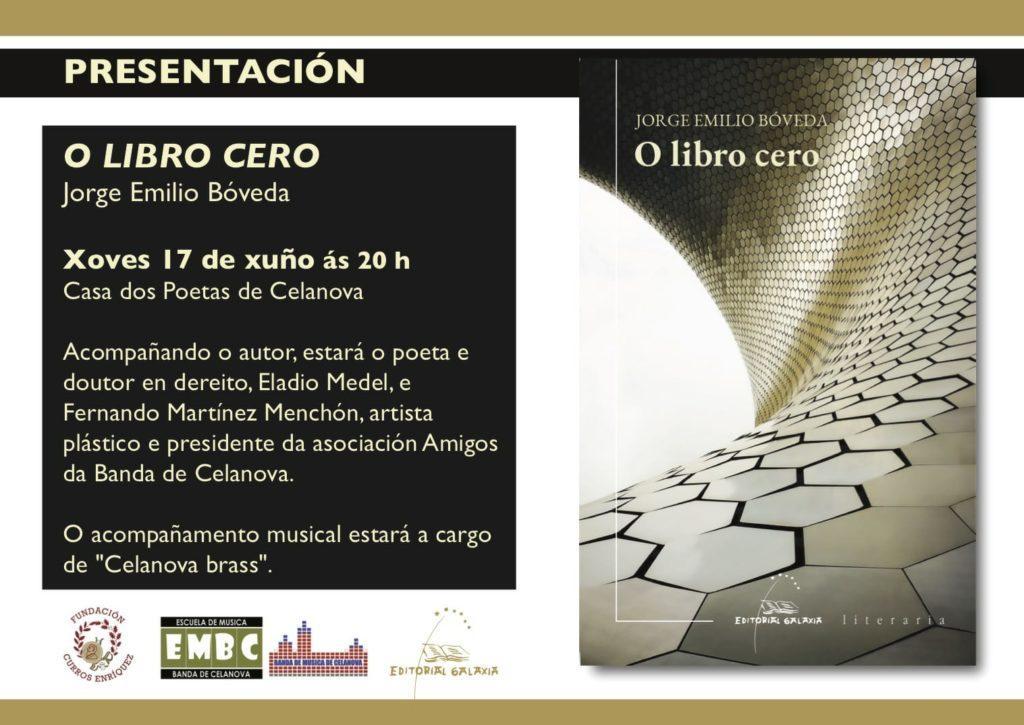Presentación «O libro cero»