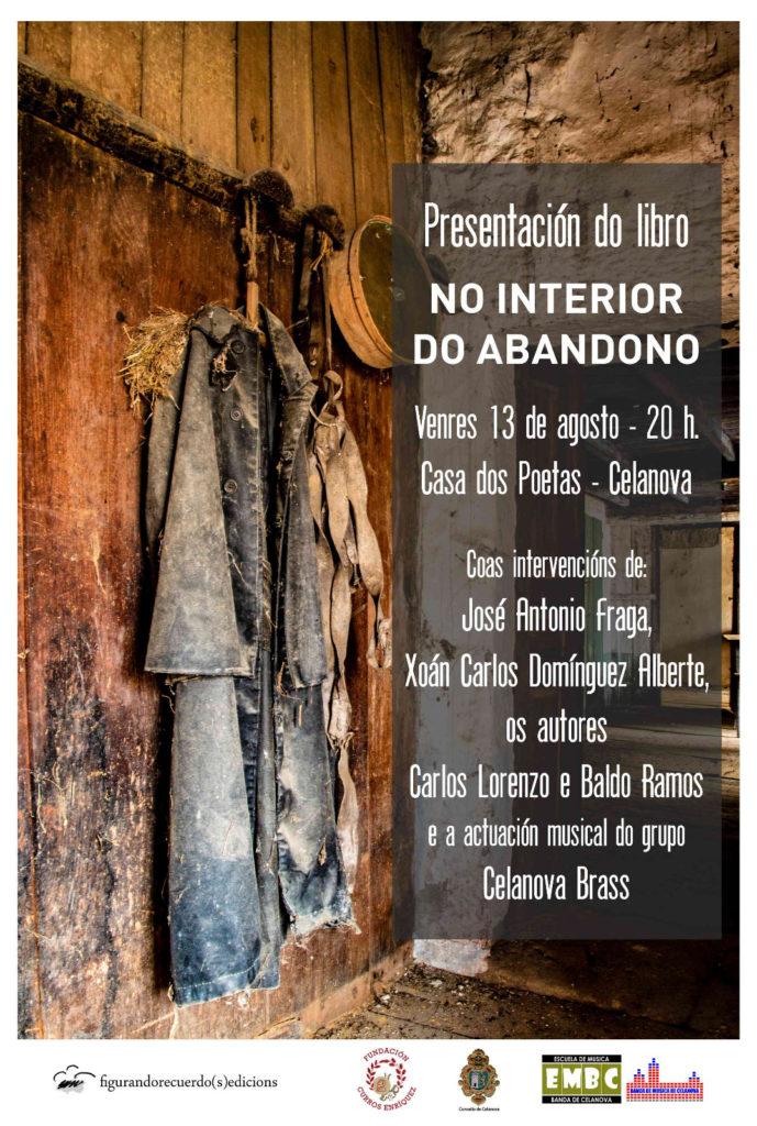 Presentación do libro «No interior do abandono»